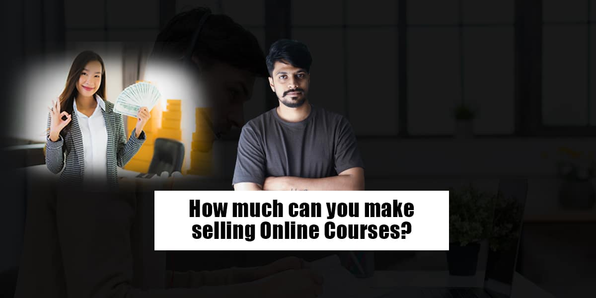 Make money by selling courses